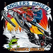 Anglers Haven Snow Mobile Tshirt Illustration