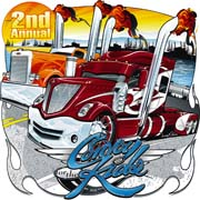 2010 Convoy for the Kids Tshirt Illustration