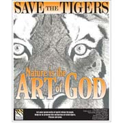 Save the Tigers Illustration